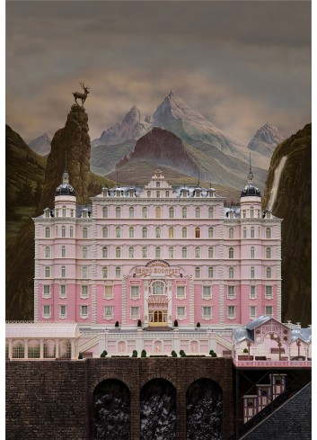 Grand Budapest Hotel 01 Poster 35X50