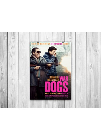 War Dogs 01 Poster 35X50