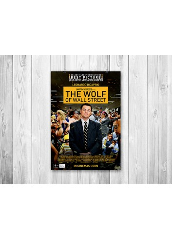The Wolf of Wall Street 01 Poster 35X50