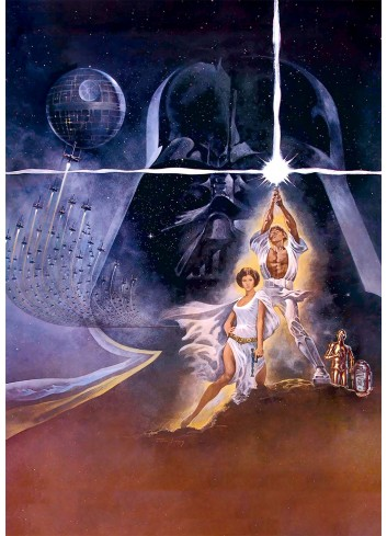 Star Wars Episode IV A New Hope 01 Poster 35X50