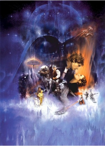 Star Wars Episode V The Empire Strikes Back 01 Poster 35X50