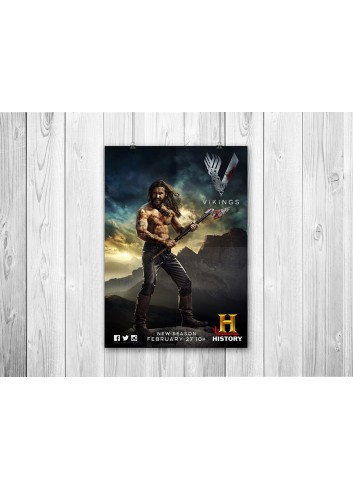 Vikings Series 02 Poster 35X50