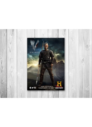 Vikings Series 03 Poster 35X50