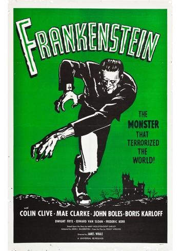 Frankestein Poster 35X50