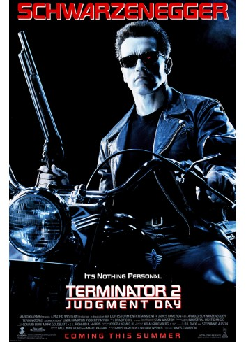 Terminator 2- Judgment Day Poster 35X50