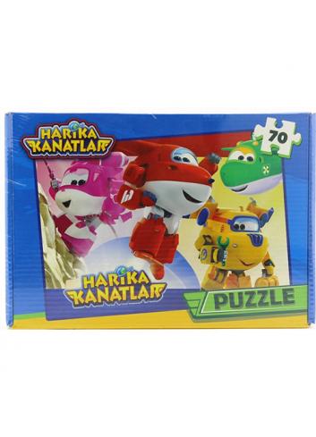 Harika Kanatlar Puzzle Yapboz (70 Parça)