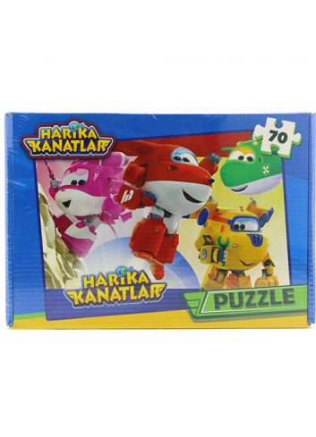 Super Wings Puzzle (70 Pieces)