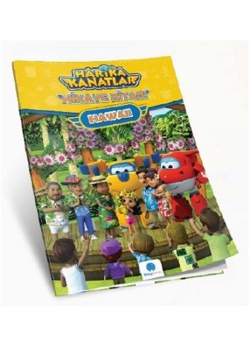 Super Wings Story Book (Turkish Book)