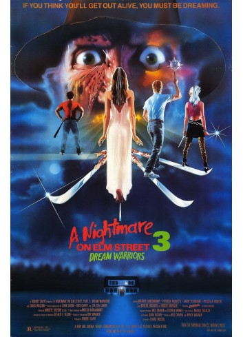 A Nightmare On Elm Street-Dream Warriors 01 Poster 35X50