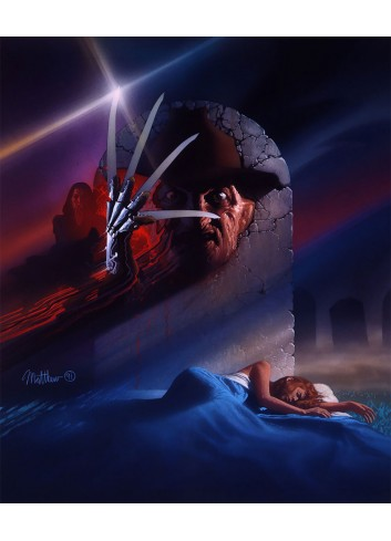 A Nightmare On Elm Street 3 02 Poster 35X50