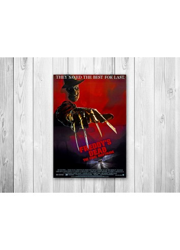 Freddy's Dead: The Final Nightmare Poster 35X50