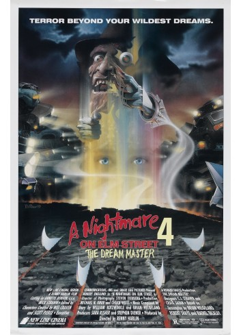 A Nightmare On Elm Street: The Dream Master Poster 35X50