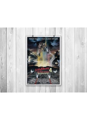 Elm Sokağında Kabus 4: Rüya Ustası Poster 35X50