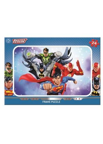 Justice League 24 Parça Mabbels Frame Puzzle