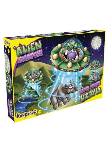 Alien Snatch Board Game