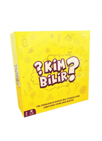 Kim Bilir? (Turkish Board Game)