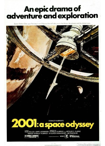 2001:A Space Odyssey Poster 35X50