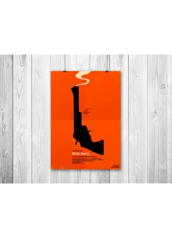 Dirty Harry Poster 35X50