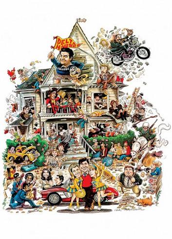 Animal House Poster 35X50
