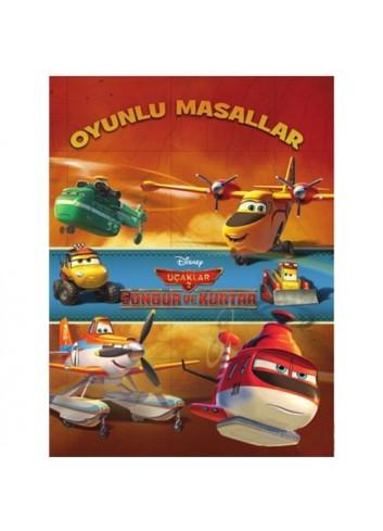 Disney Uçaklar Oyunlu Masallar (Kitap)