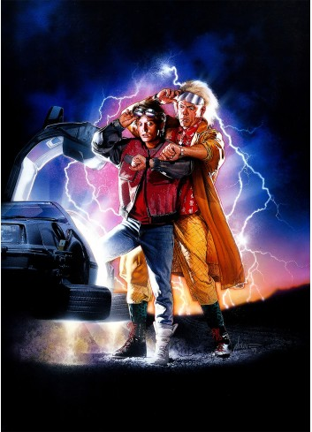 Back to the Future II Poster 35X50