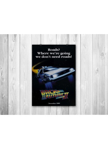 Back to the Future Part II Poster 35X50