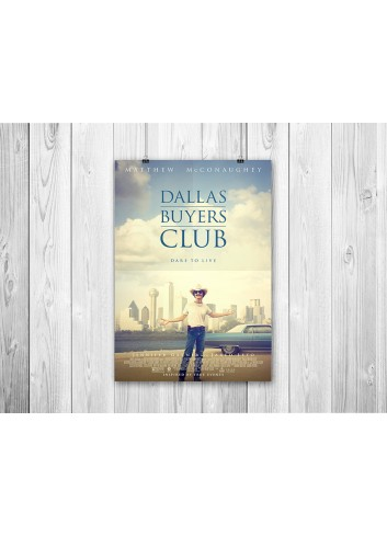 Dallas Buyers Club Poster 35X50
