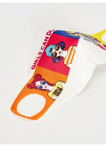 8-14 Years Old Girl Washable Face Mask 03