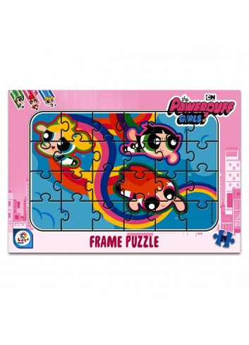 Powerpuff Girls 24 Pieces Frame Puzzle