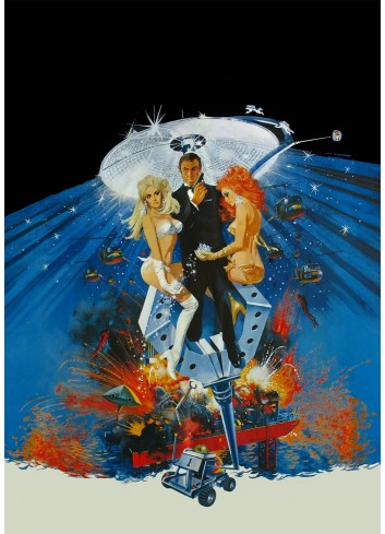 Diamonds Are Forever Poster 35X50