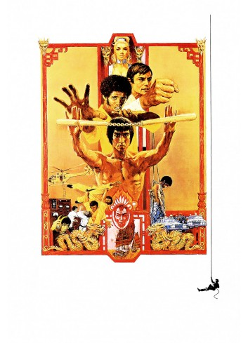 Diamonds Are Forever Enter The Dragon Poster 35X50