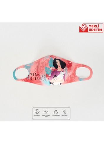 8-14 Yaş Kız Çocuk Yıkanabilir Yüz Maskesi 01