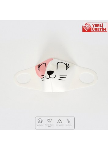 8-14 Years Old Girl Washable Face Mask 02