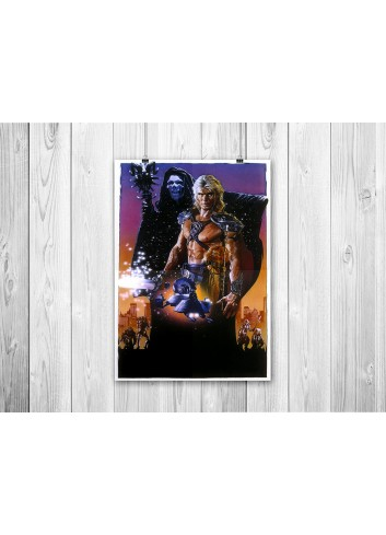 Masters Of The Universe Poster 35X50