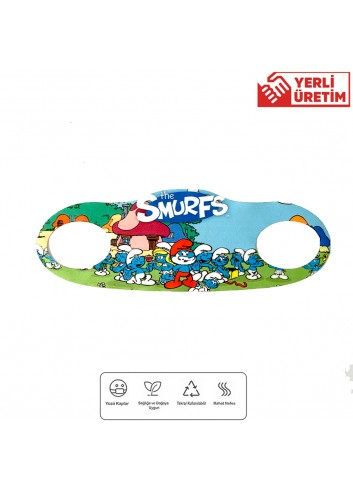 The Smurfs Children Face Mask