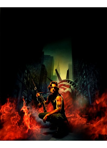 Escape From New York Poster 35X50