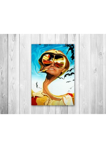Fear And Loathing İn The Las Vegas Poster 35X50