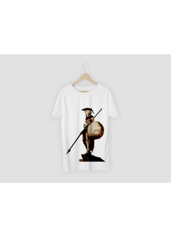 300 Men's White T-Shirt