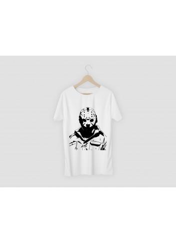 Jason Men's White T-Shirt