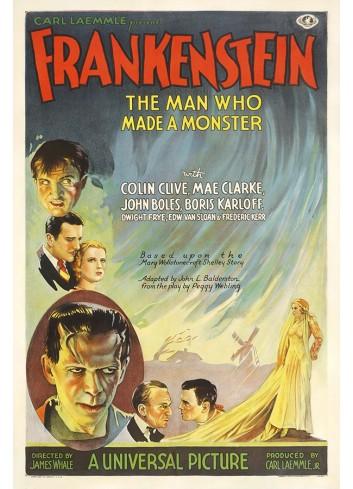 Frankenstein Poster 35X50