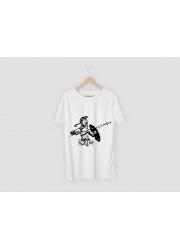 Troy Design Men's White T-Shirt