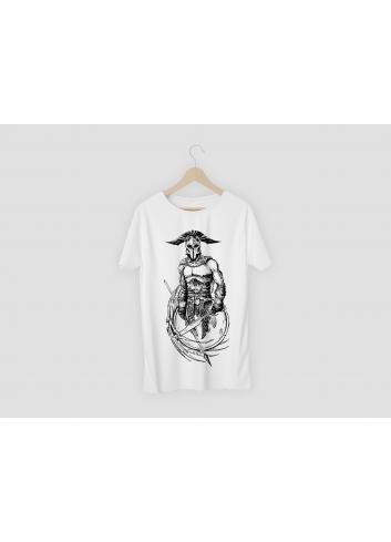 Warrior Men's White T-Shirt