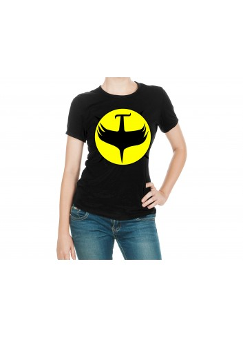 Zagor Logo Women's Black T-Shirt