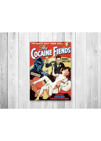 Cocaine Fiends Poster 35X50