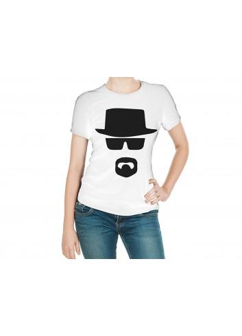 Breaking Bad Heisenberg Women's White T-Shirt