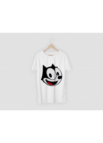 Felix The Cat Men's White T-Shirt