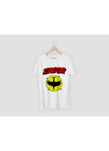 Zagor Logo 02 Men's White T-Shirt