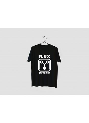 Back to the Future Men's Black T-Shirt