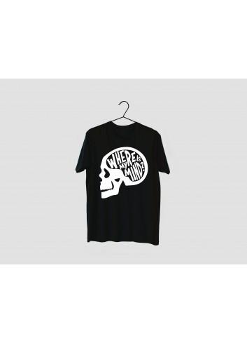 Dövüş Kulübü Where is My Mind? Men's Black T-Shirt
