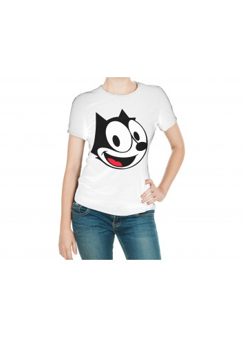Felix The Cat Women's White T-Shirt